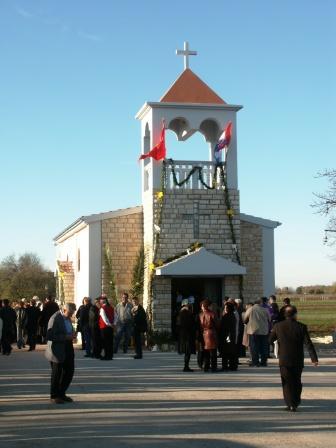 Posveta crkve sv. Mihovila u Dobroj Vodi