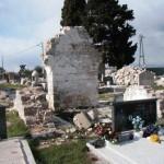 Porušena župna crkva, Perušić