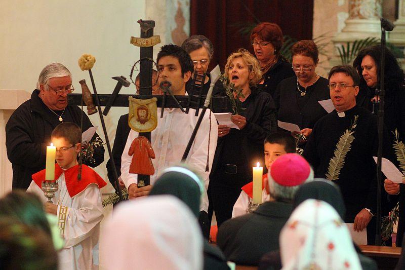 Veli Iž, nastup pjevača iz V. Iža na Danima kršćanske kulture, Crkve sv. Frane, Zadar, 2012.