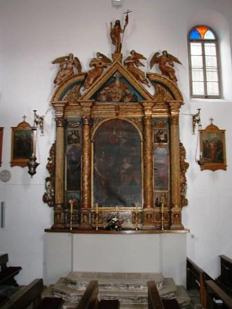 Drveni oltarni retabl, Biograd