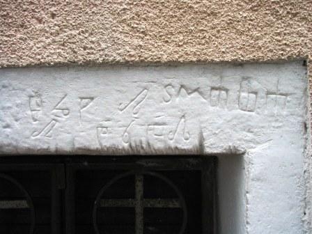 Glagoljski natpis na crkvi sv. Petra, Sveti Petar