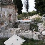 Ruševine crkve sv. Frane Pristeg