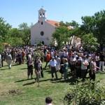Proslava sv. Nediljice, Vrana