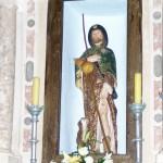 Veli Iž, kip sv. Roka