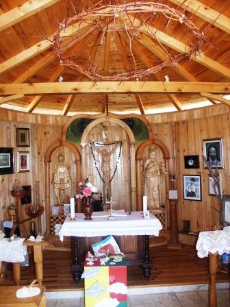 Posedarje, Kapela sv. Josipa (unutrašnjost)
