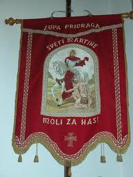 Pridraga, Barjak sv. Martina