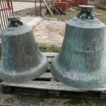 Zvona sa srušene crkve u Tinju