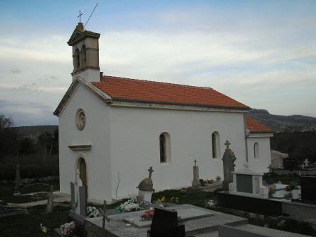 Crkva sv. Mihovila na groblju, Vrana