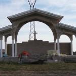 Vanjski oltar, Vrana