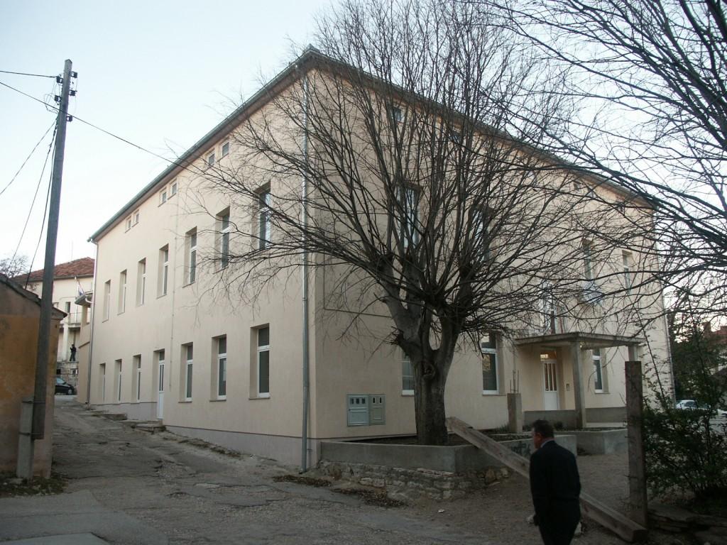 Zgrada katoličkog doma u Benkovcu