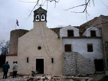 Crkvica sv. Ante Padovanskog, Benkovac (Kaštel)